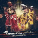 A special night: @KingJames is home. @NBAonTNT is home.  Coverage starts tomorrow at 7:00pmET http://t.co/N2pKuNGpxl