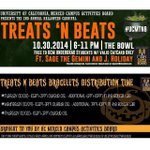 Wanna get into the Halloween spirit but not sure how? Tomorrows Treats & Beats is a good start! #UCMerced #UCMCAB http://t.co/sb3L2WKNdd