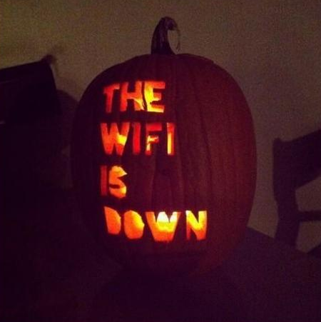 The scariest #Halloween pumpkin of them all! http://t.co/IVPCv6xRXh