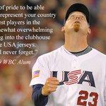 RT @USABaseball: Being on #TeamUSA matters to J.J. Putz