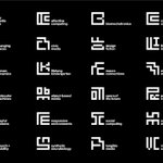 Each of the 23 research groups inside MIT Media Lab now has its own logo http://t.co/8AyGGz5zVO http://t.co/MwP0A5Pm6D