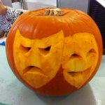 Wow! things are getting spooky at the GSA. RT @niallbailey: @The_GSA does Halloween! #pumpkin http://t.co/oOu4lb7v6x @UniOfSurrey