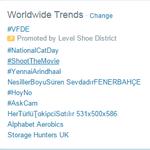 RT @Thalafanveeram: @Dhananjayang @menongautham World Wide trendings its Thala Power sir