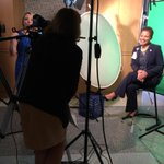 Filmed an exclusive interview of Pam Sutton-Wallace, CEO at the UVA Medical Center. @uvahealthnews http://t.co/iY3qfIbijQ