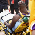 THIS JUST IN: Julius Randle will miss rest of 2014-15 season after undergoing surgery to repair his fractured tibia. http://t.co/uahUrtsaqb