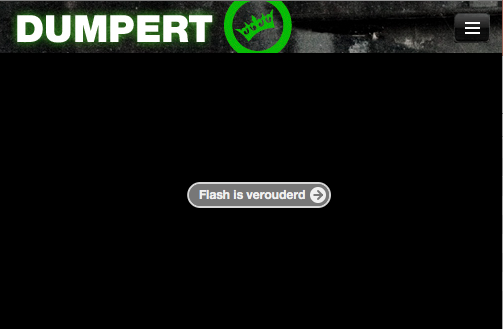 Nou, Flash-plugin, het is dat je het zelf zegt http://t.co/a82BZjIqDL