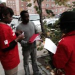 This is how we are remembering Hurricane Sandy. Gathering community residents to apply for jobs. Our resiliency. #nyc http://t.co/caKaPl5jP8