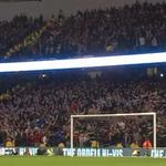 Newcastle fans doing the Poznan at The Etihad tonight. #NUFC http://t.co/0f0hNYztTB