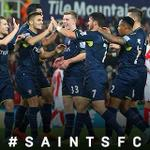 RT @RonaldKoeman: #SaintsFC showed a strong will to win in this rather long spectacular game #cupfighters Again, great fan support! http://t.co/mgfv3LR7Of