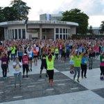 Y así es como se vive el 9no. Maratón Aeróbico #GenDelDeporte http://t.co/WmHkymVNl8