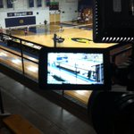 Live in 20 min from Zorn Arena for tonights Breast Cancer Awareness match @stoutbluedevils vs. @UWECVolleyball! http://t.co/lRlahCY8II