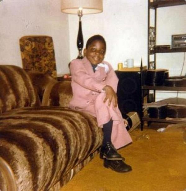 Notorious B.I.G. at 6 years old after graduating from kindergarten, around 1978 http://t.co/eyyCPH5Si7