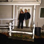 Kaci Hickox steps out of home in Fort Kent, Maine http://t.co/RRN9NUDGMu