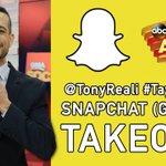 Want to see #TaylorOnGMA (@taylorswift13) through @GMAs Snapchat? Follow GMA_ABC now! @TonyReali is taking it over! http://t.co/MV4NLvYoYc