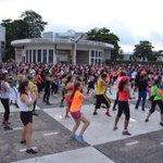 Ya en la segunda parte del 9no. Maratón Aeróbico. #GenDelDeporte http://t.co/J00kIiVxkp