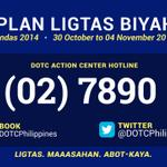 DOTCs action center hotline and social media accounts are operational this Undas. http://t.co/dmZI2LozVE http://t.co/EGj0OSLAsG