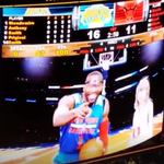 """The Knicks were leading when Amar'e sang """"Shake It Off"""" with T-Swift. They lost by 24. http://t.co/OS06z6F1Xo http://t.co/RT9MW2yJpG"""