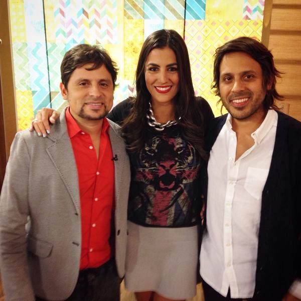 Mi foto del dia con @ServanyFlorenti @servando y @florentino en @TDASHOW por @Univision @Venevision_Plus http://t.co/9GsK57SORS