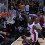 RT @BleacherReport: VIDEO: Heats James Ennis absolutely goes through Rasual Butler on this fast-break dunk http://t.co/HTYn2rqYXB http://t.co/iObohWHnRV