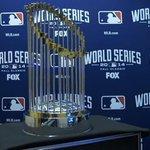 RT @MLBFanCave: The beautiful #WorldSeries trophy. #Game7 http://t.co/FW5hoMVM5f
