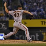 RT @SFGiants: 9 pitch 7th inning for #MadBum #SFGiants 3-2 | Top 8th #OctoberTogether #Game7 http://t.co/G8F2p1qXwl
