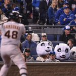 RT @MLBFanCave: The pandas look on. #Game7 http://t.co/fM9G58ixfe