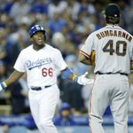 Never forget when Puig took Bumgarner 450 then bat flipped and Bumgarner threw a fit #DodgerNation http://t.co/hOzpje0krX