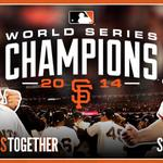 RT @SFGiants: WE ARE THE CHAMPIONS OF THE WORLD! #SFGiants #ChampionsTogether http://t.co/zOcrGqmX8l