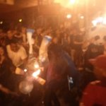 RT @MLNow: People have lit a piñata on fire at 19th and mission http://t.co/UqvO9svXVf