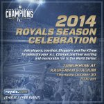 Tomorrow the #Royals will host a 2014 Season Celebration at #TheK. We hope you can join us! http://t.co/7w9qAPGYtJ http://t.co/kFsl9HpTFr