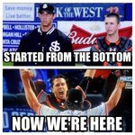 From San Jose (@SJGiants) to the City by the Bay ... these two ... incredible! RT @aj_strong: #SFGiants #Dynasty http://t.co/aI6vRD9FPG