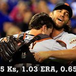 RT @SFGiants: #MvpADBUM: He threw more innings in a postseason than anyone in history & he threw em better: http://t.co/zWgDUHbZQR http://t.co/5hqKWU8VD7