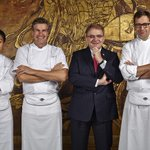 #Michelin #HK 2015 results announced! Pierre – 2*, Mandarin Grill + Bar – 1*, Man Wah – 1*, total of 4* for @MO_HKG! http://t.co/nvPZORojEE