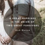 A great marriage is the union of two great forgivers. http://t.co/OCgUdrg1IG