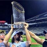 RT @SFGiants: Raise the Trophy #ChampionsTogether #SFGiants http://t.co/GaCSgUbbpm