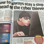 Thanks to todays Daily Mail we now know what a cyber thief looks like so can stay a step ahead...  (via @lukemcgee) http://t.co/EUa21Zd8GU