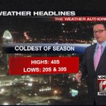 Check out your LOCAL 12 weather authority forecast with John Gumm! http://t.co/00vmu1KscO @johngumm http://t.co/HaWR1fr3Tj