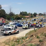 The scene of a shootout in Buccleuch in Johannesburg. #SABCNews http://t.co/UvLwozhGp2