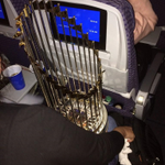 .@SFGiants on their way home right now with the #WorldSeries hardware! Thanks @bbelt9 for the photo & Congrats! http://t.co/j3PIKJnv6F
