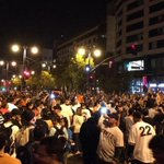 Two people shot, fires reported during Giants victory celebrations http://t.co/XfoUwUqVdY #sanfrancisco http://t.co/IpgwLwVTun