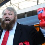 Brian Blessed intimidates London commuters into buying poppies: http://t.co/x26cXYunbw http://t.co/4rU8h8tznc