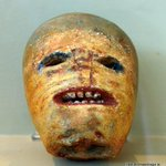 Carved turnip head, an early Irish Jack O Lantern #Halloween #Spooky http://t.co/Mug3U11yID