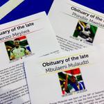 Death neh.RT @eNCAnews: RT @BiancaZAR: The obituaries of #SenzoMeyiwa #MbulaenuMulaudzu & Phindile Mwelase > http://t.co/DAeJCpM5lq