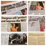 Todays news: @NicolaSturgeon kicked off #SNPtour last night before taking over as First Minister next month http://t.co/yPCd488kan