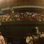 #MemorialService fans of the 3 sport stars already inside the Standard Bank arena http://t.co/Xh8d8muRWy