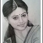 RT @PriyaManiWeb: A beautiful fan picture of @priyamani6 share by Praveen P Pai :)