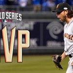 RT @MLB: 2-0, SV, 17 Ks, 1 R in 21 IP. Just sick. http://t.co/r6FTPqsILJ Your unanimous #WorldSeries MVP, Madison Bumgarner. http://t.co/X09KLWp5If