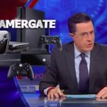 RT @verge: Stephen Colbert takes on #Gamergate with Anita Sarkeesian http://t.co/OSxMYCyJ5U http://t.co/tFCnqIcNYs