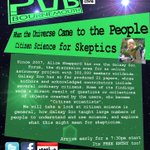 Citizen science has come to the people. Find out how from @PenguinGalaxy at the next #Bournemouth #SITP http://t.co/RbxqZcbuT3