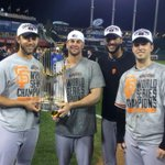 RT @SFGiantsFans: CANT. STOP. SMILING. #SFGiants #WorldSeriesChampions http://t.co/W6RpvPoR6t